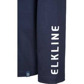 Elkline Hot Seat T-shirt à manches longues Homme, darkblue